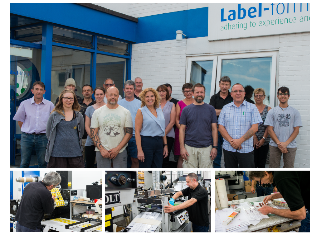 The Label Form printers team