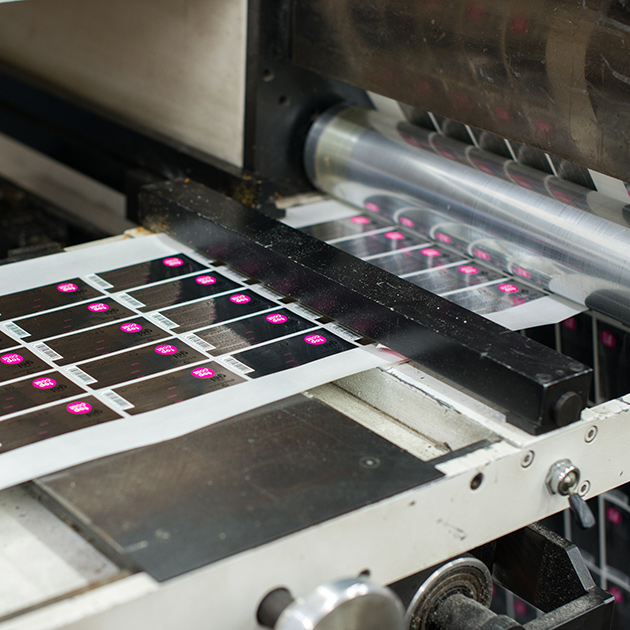 label laminating